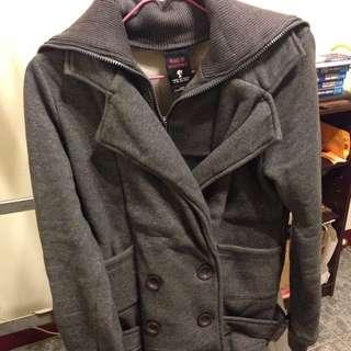 棉質 雙排扣外套