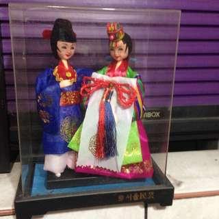 韓國人偶擺設