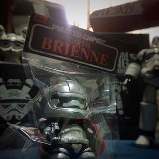 Hidden Fortress Pirated Empire Tarth Brienne Quiccs Captian Phasma Custom DIY Kidrobot Dunny Toy