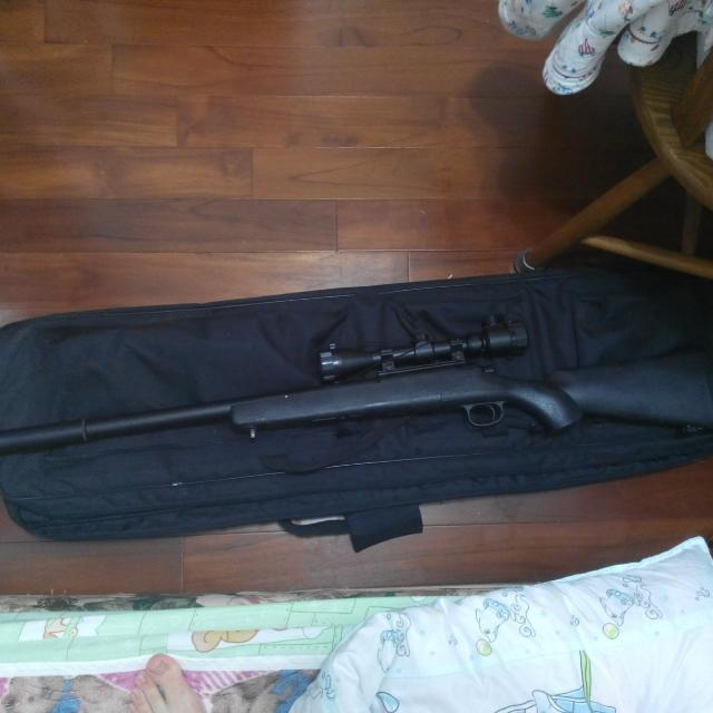 狙擊槍(生存遊戲用)目前出價準備面交中