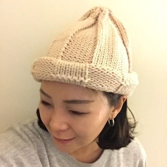 啾啾毛帽(米)