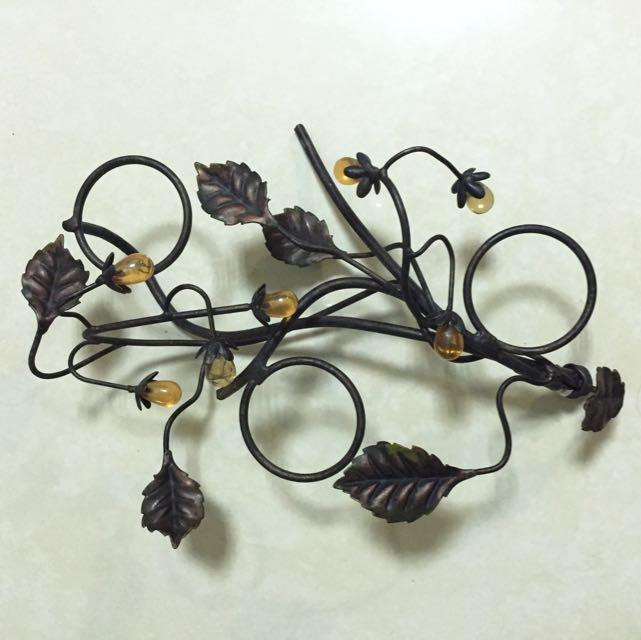 飾品 置物 葉子 果實 設計 架子