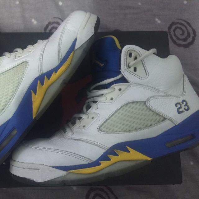 二手 Jordan 5代 藍尼 10.5