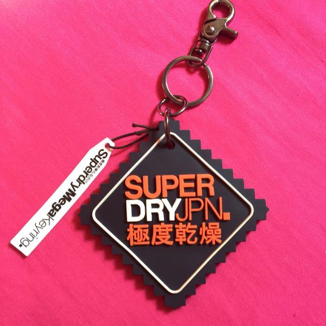 ✨全新正品✨ Superdry 極度乾燥 鑰匙圈/吊飾