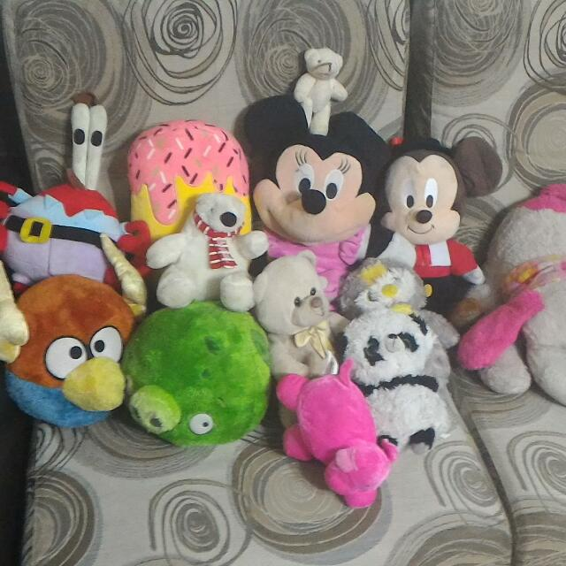 Revised Price Assorted Soft Toys
