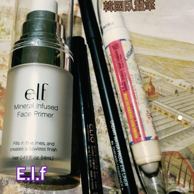 Elf primer /CLIO 3CE 眼線筆/ 臥蠶筆