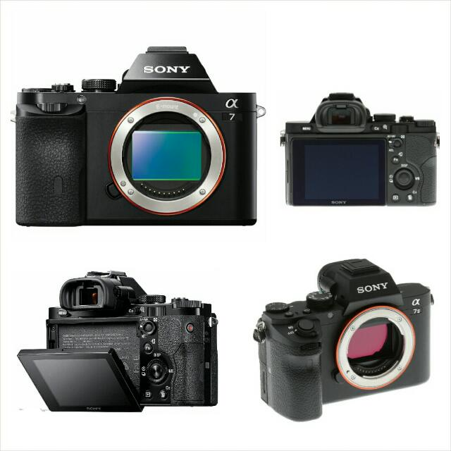 Free Delivery! Brand New! Sony α7 E-mount Camera with Full Frame ...