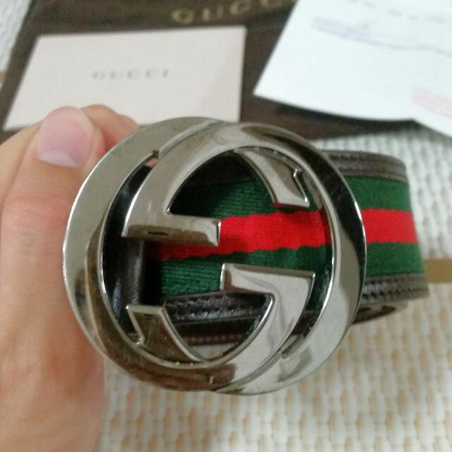 d35300df2 GUCCI Belt 100% Authentic, Luxury, Accessories on Carousell