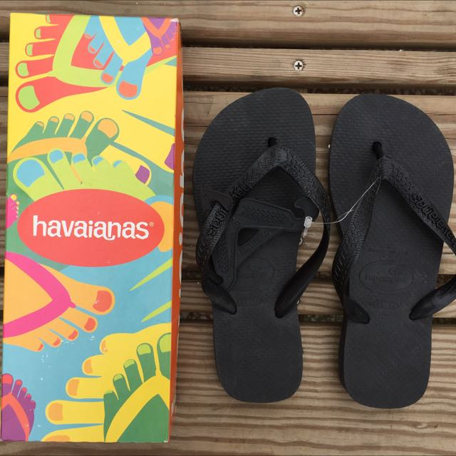 全新Havaianas哈瓦士夾腳拖鞋