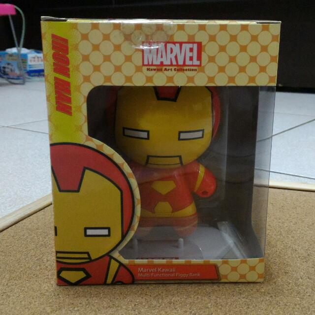 (保留中)Marvel Kawaii 漫威 鋼鐵人多功能存錢筒