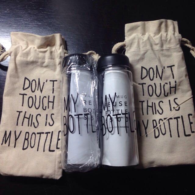 My Bottle 附麻布袋 2個 $100