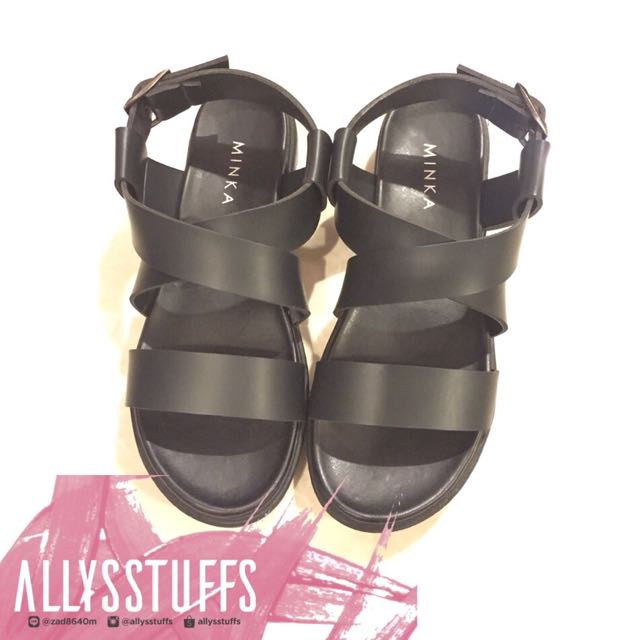 [NEW] MINKASHOES - Freja (Black) Size 38