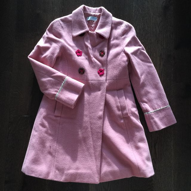Nice Pink Winter Coat (quilted!)
