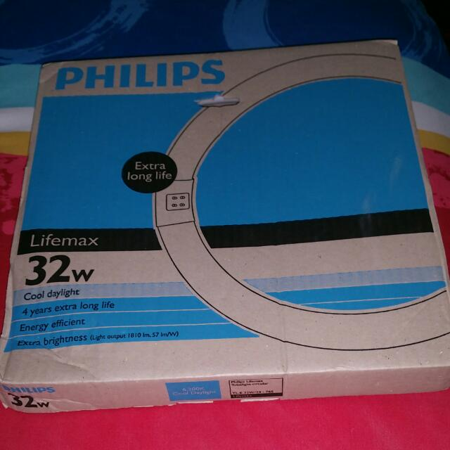Philips Lifemax Tubelight Circular