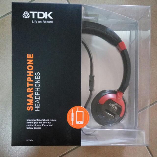 ST260S TDK Smartphone Headphones
