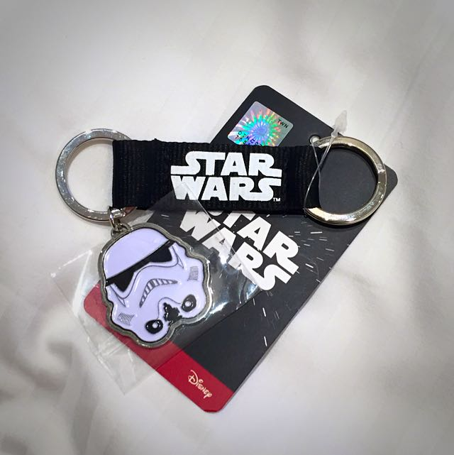 Star Wars Stormtrooper Keychain Toys Games On Carousell