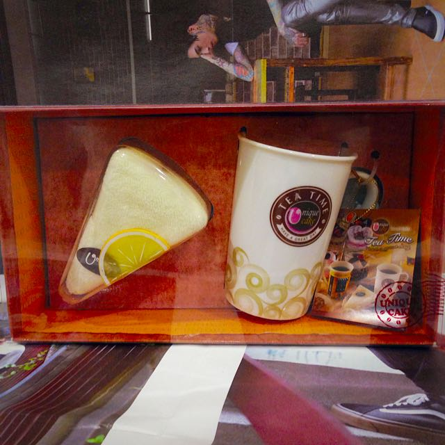 Tea Time 馬克杯&毛巾蛋糕🍰