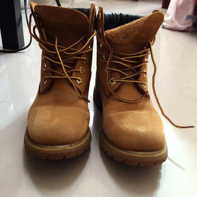 Timberland 黃靴 踢不爛(保留中)