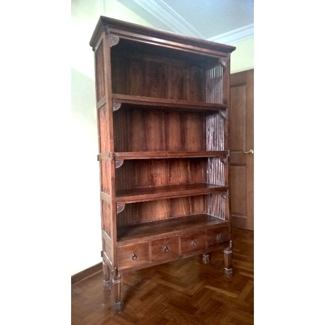 Vintage Palace Teak Bookshelf Furniture On Carousell