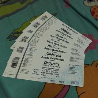 Cinderella: A Fairly True Story Cat 1 Tickets Cheap!!!