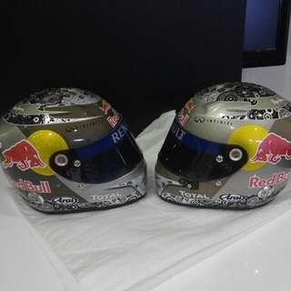Red Bull Display Helmel
