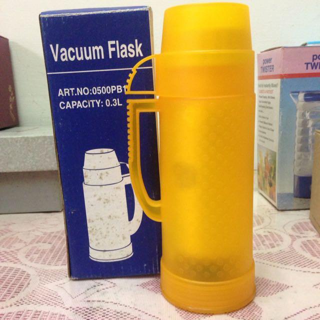 鮮黃真空保溫杯0.3L