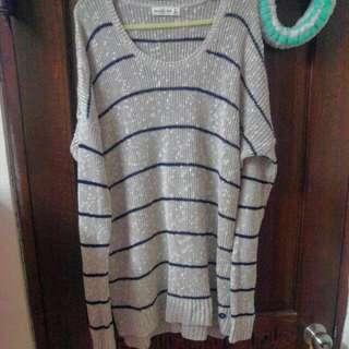 全新冬款新款Abercrombie & Fitch 雪花針織毛衣