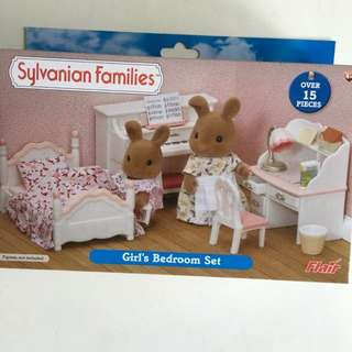 Sylvanian Girl Bedroom Set (last Set)