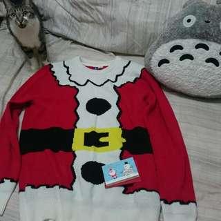 H&M 聖誕老公公毛衣