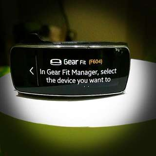Price Reduced Samsung Gear Fit (F604)