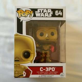 Price Reduced Star Wars Figurine.