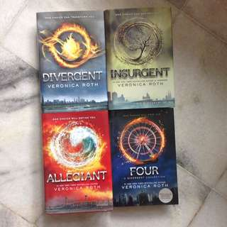 [RESERVED] Divergent Trilogy + Four