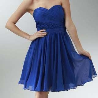 ROYAL BLUE PROM/EVENING DRESS