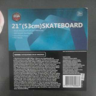 "21""(53CM) Skateboard"