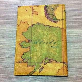 全新正品地圖護照套筆記本套