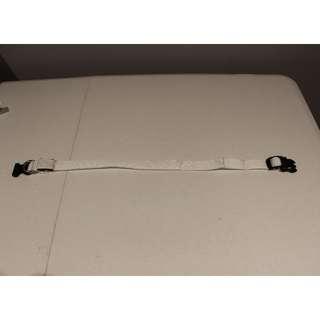 Large White Nylon LED Pet Collar