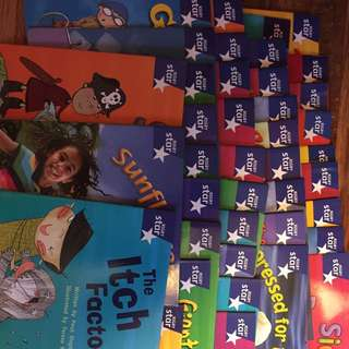 40 Books Of Rigby Star Phonics for $15.