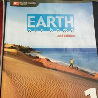 Secondary One Geography Textbook.