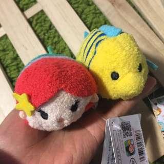 日本迪士尼商店購回 TSUM TSUM 沙包玩偶