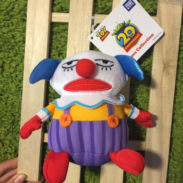 日本玩具總動員20週年 限定娃娃 小丑