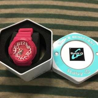 Baby-G 休閒錶(紅精靈/43.1mm)