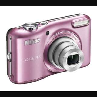 Nikon Coolpix L28 Pink - Sell For Parts