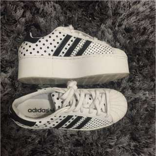 Adidas Superstar Platforms
