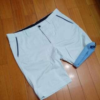 ZARA 條紋短褲