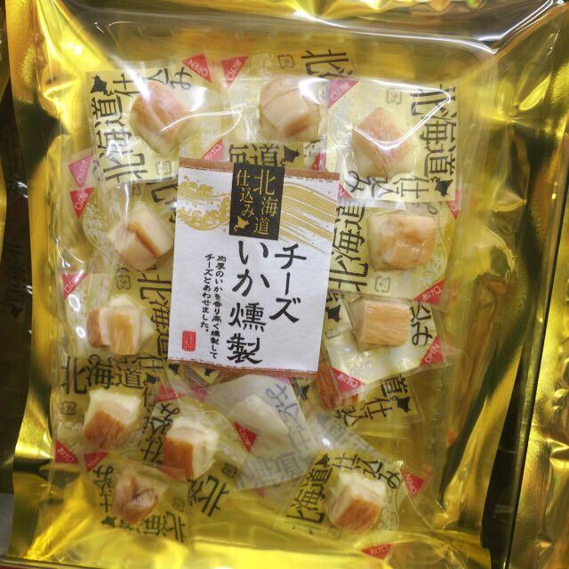 已售完【北海道 起司煙燻花枝140g】東京購回