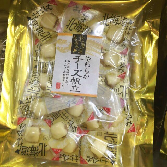 🎉售完【北海道 起司帆立貝120g】預購。東京購回