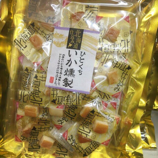 🎉售缺【北海道 煙燻花枝120g】東京購回