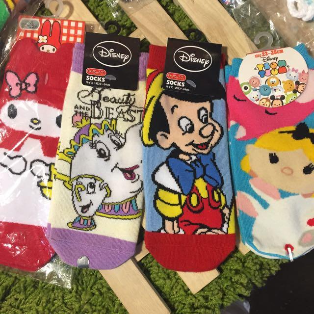日本帶回 卡通襪