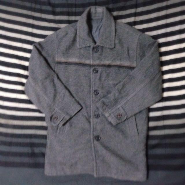 復古大衣  二手 古著 Vintage 毛料 紳士 英倫 文青 M號