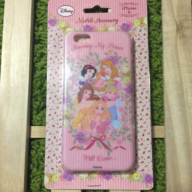 日本帶回 iPhone 6/6S 軟殼 綜合公主